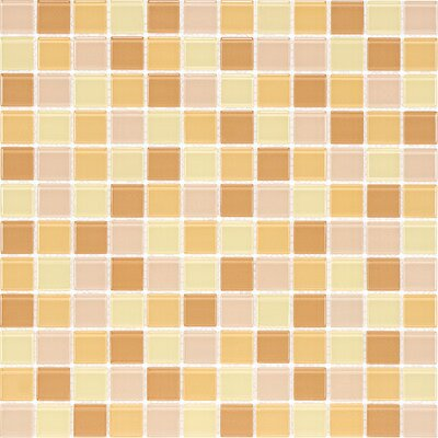 Cristezza Select 0.88 x 0.88 Glass Mosaic Tile in Honeycomb
