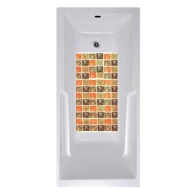 14 x 27 Olive Tile Bath Mat