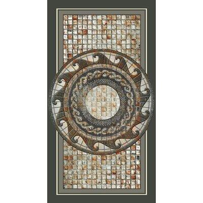 Kahuna Grip Mosaic Medallion Shower Mat