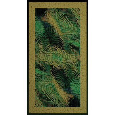 Kahuna Grip Palm Frond 1 Shower Mat