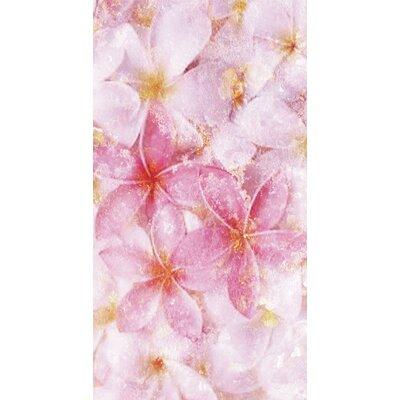 Kahuna Grip Pastel Flowers Shower Mat