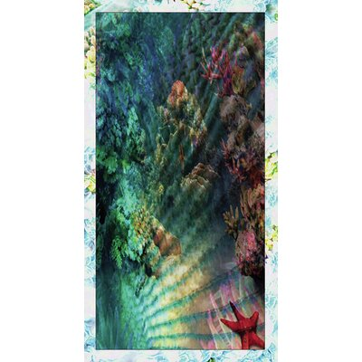 Kahuna Grip Coral Reef Shower Mat