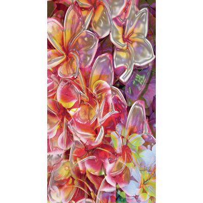 Kahuna Grip Electric Flowers Shower Mat