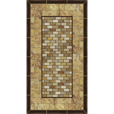 Kahuna Grip Stone Picture Frame 2 Shower Mat