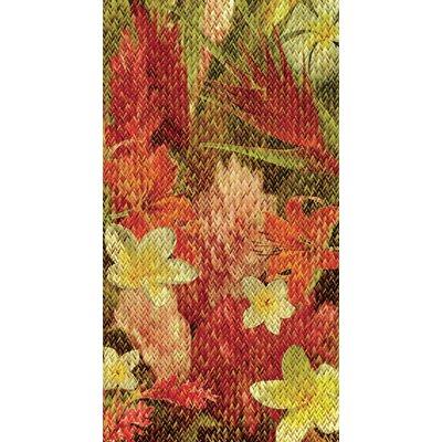 Kahuna Grip Floral Weave Shower Mat