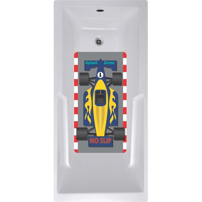 Kahuna Grip Race Car Shower Mat
