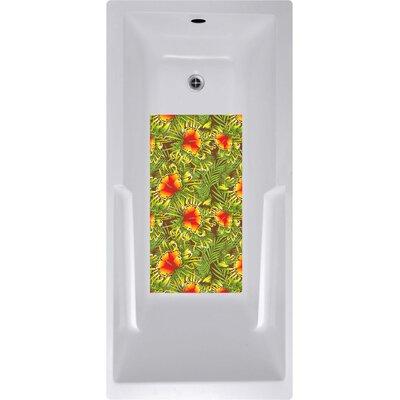 14 x 27 Dolsen Hibiscus Bath Mat