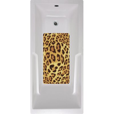 Leopard Bath Tub and Shower Mat