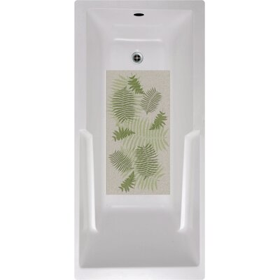 Fern Floral Bath Tub and Shower Mat