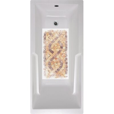 Mosaic Tiles Bath Tub and Shower Mat