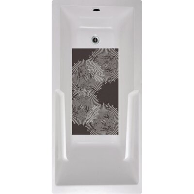 Radial Pattern Bath Tub and Shower Mat