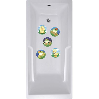 Wai Aikanes Animals Bath Tub and Shower Treads