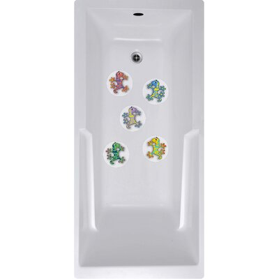 Wai Aikanes Geckos Bath Tub and Shower Treads