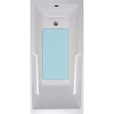 Bath Tub and Shower Mat Color: Blue