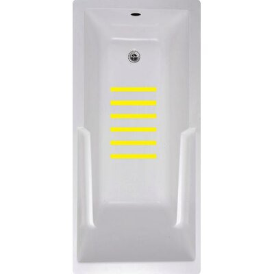 Bath Tub and Shower Treads Color: Yellow