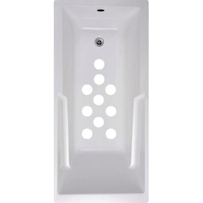 Cirlces Bath Tub and Shower Treads Color: White
