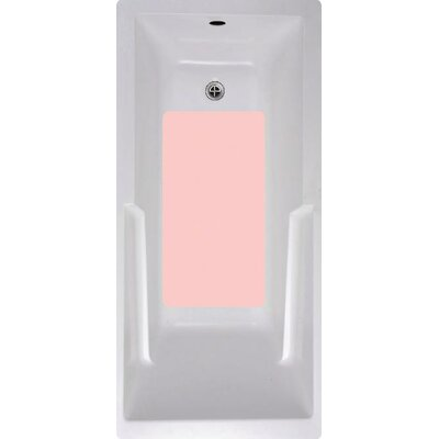 Bath Tub and Shower Mat Color: Pink