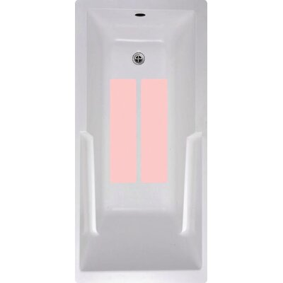 Bath Tub and Shower Treads Color: Pink