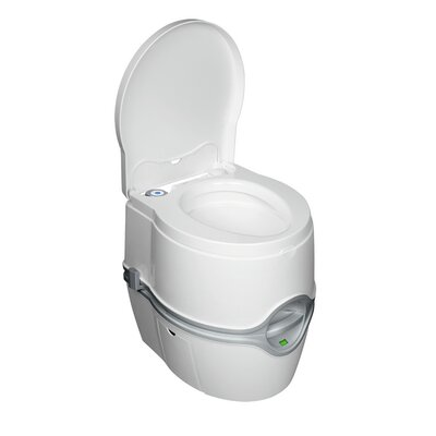 Marine Porta Potti Curve Portable Round One-Piece Toilet