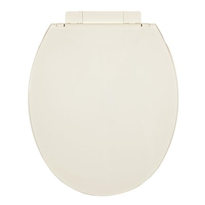 Plastic Round Toilet Seat Finish: Biscuit / Linen