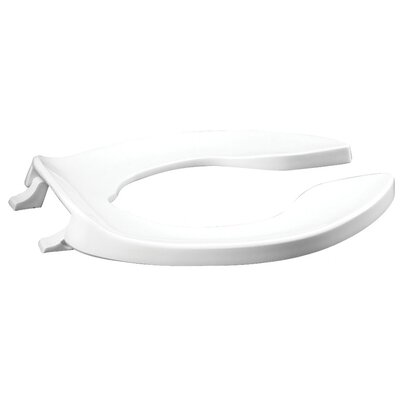 Plastic Elongated Toilet Seat Hinge Type: Self-Sustaining