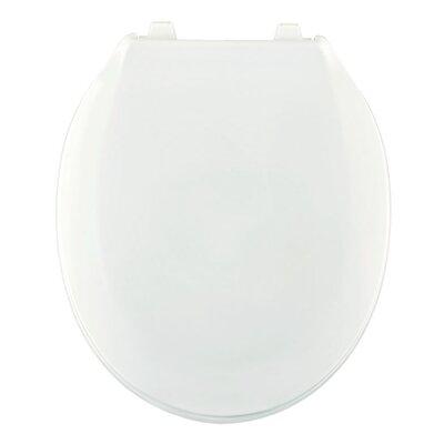 Plastic Round Toilet Seat Finish: Crane White