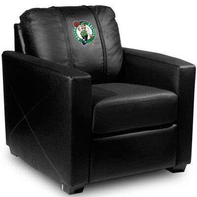 Silver Club Chair