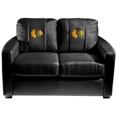 Silver Loveseat NHL Team: Chicago Blackhawks
