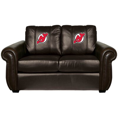 Chesapeake Loveseat NHL Team: New Jersey Devils