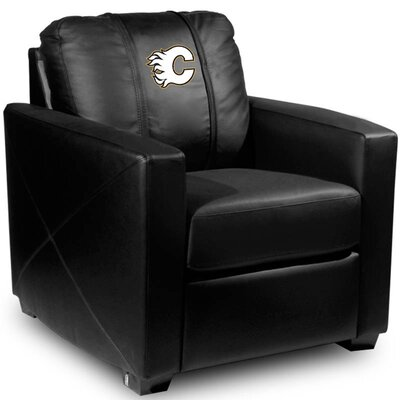 Silver Club Chair NHL Team: Calgary Flames