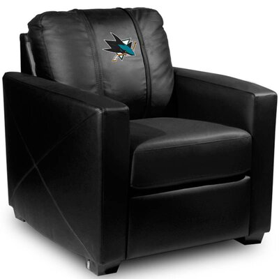 Silver Club Chair NHL Team: San Jose Sharks
