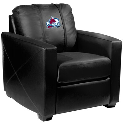 Xcalibur Club Chair NHL Team: Colorado Avalanche