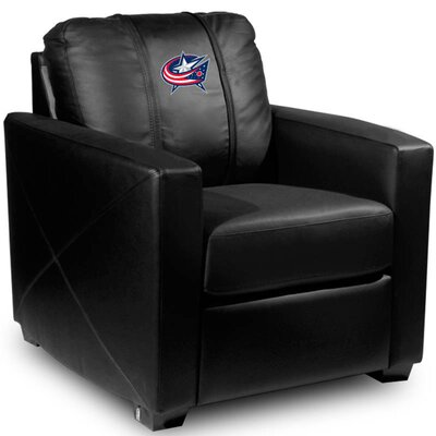 Silver Club Chair NHL Team: Columbus Blue Jackets