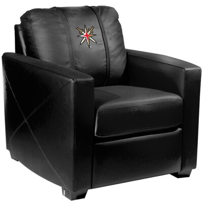 Silver Club Chair NHL Team: Vegas Golden Knights - Secondary