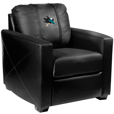Xcalibur Club Chair NHL Team: San Jose Sharks