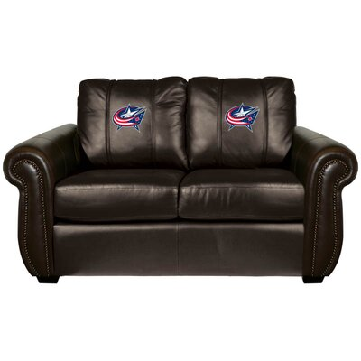Chesapeake Loveseat NHL Team: Columbus Blue Jackets