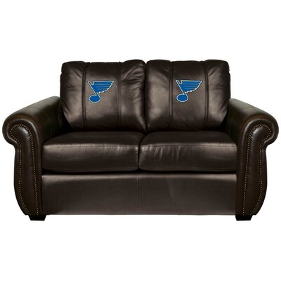 Chesapeake Loveseat NHL Team: St. Louis Blues
