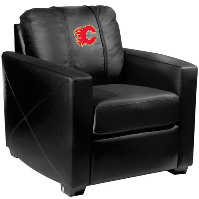 Xcalibur Club Chair NHL Team: Calgary Flames - Red