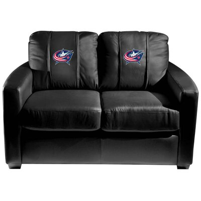 Silver Loveseat NHL Team: Columbus Blue Jackets