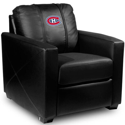 Silver Club Chair NHL Team: Montreal Canadiens