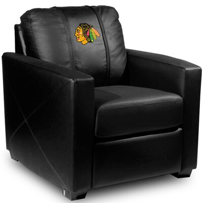 Silver Club Chair NHL Team: Chicago Blackhawks