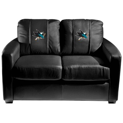 Silver Loveseat NHL Team: San Jose Sharks
