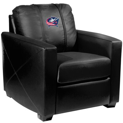 Xcalibur Club Chair NHL Team: Columbus Blue Jackets