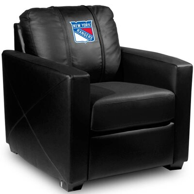 Silver Club Chair NHL Team: New York Rangers