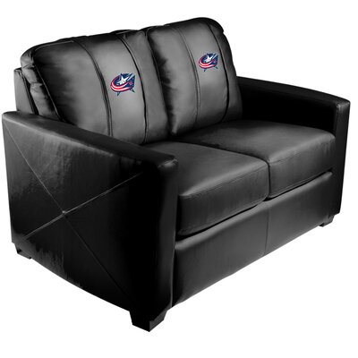 Xcalibur Loveseat NHL Team: Columbus Blue Jackets