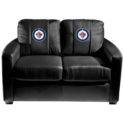 Silver Loveseat NHL Team: Winnipeg Jets