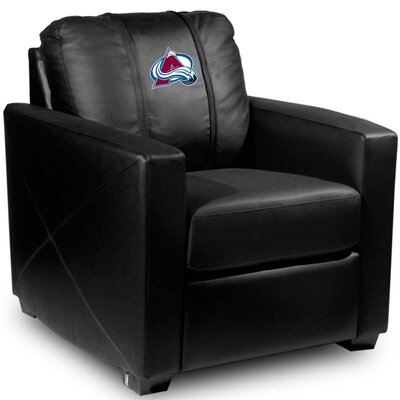 Silver Club Chair NHL Team: Colorado Avalanche