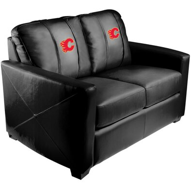 Xcalibur Loveseat NHL Team: Calgary Flames - Red
