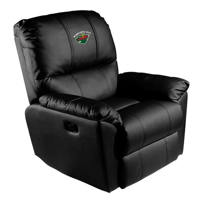 Manual Rocker Recliner NHL Team: Minnesota Wild