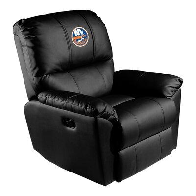 Manual Rocker Recliner NHL Team: New York Islanders